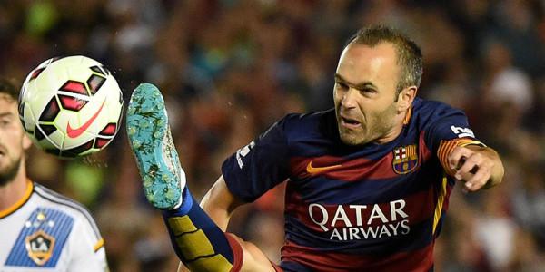 Iniesta Tak Terlalu Pikirkan Kekalahan Tim Pada Pra Musim