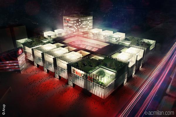 Inilah Megahnya Rancangan Stadion Baru AC Milan