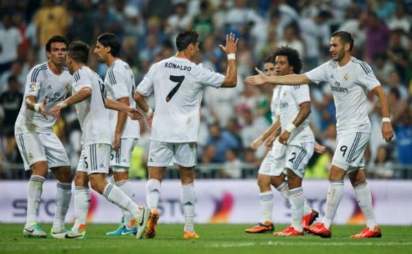 Hasil Real Madrid vs Real Betis