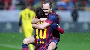 Bukti Sayangnya Iniesta Terhadap Messi