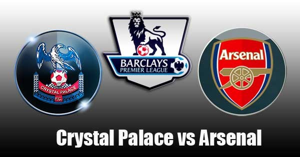 Starting Lineup antara Crystal Palace VS Arsenal