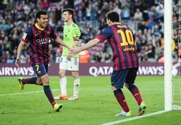 Ini Dia Salam Perpisahan Messi untuk Pedro