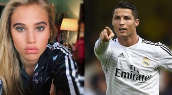 Ronaldo Ketahuan Goda Model Seksi yang Masih Bau Kencur