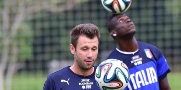 Cassano bantah transfer Balotelli ke Sampdoria