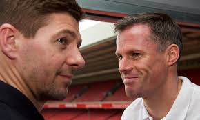 """""""Jamie Carragher"""" Pertahanan Liverpool mulai membaik."""