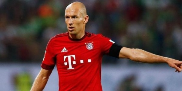 Arjen Robben Dipastikan Menepi Satu Bulan