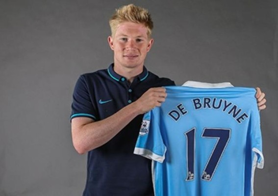 De Bruyne mengaku sangat bahagia bisa bergabung dengan Manchester City