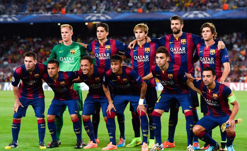 El Barca Terpilih Jadi Klub Terbaik 2015