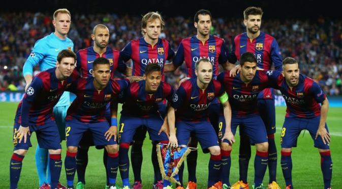 Skuad Barcelona Untuk Liga Champions