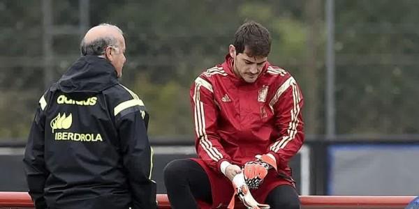 Del Bosque Sebut Casillas Telah Bisa Terima Keadaannya