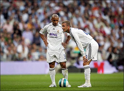 Roberto Carlos Katakan Free Kick Beckham Lebih Baik