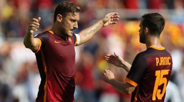 Totti Sedih Cetak Gol ke-300 untuk AS Roma