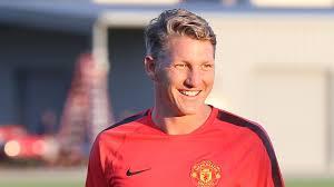 Schweinsteiger sangat bahagia di Manchester United