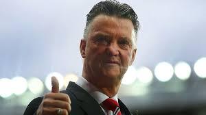 Louis Van Gaal pelatih terbahagia saat ini.