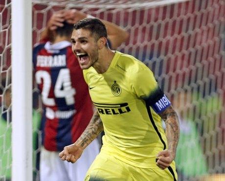10 Pemain Inter Kalahkan Bologna