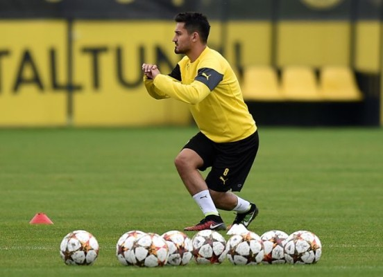 Gundogan mengaku bahagia bersama Dortmund