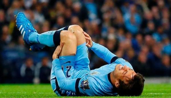Cedera kembali menimpa David Silva