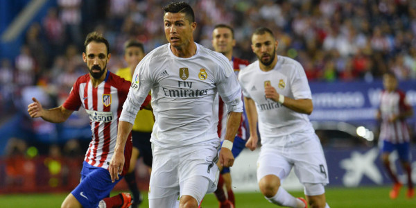 Catatan Minor CR7 di Laga Derby Madrid