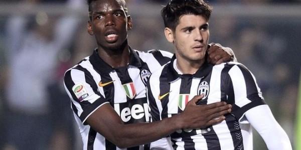 Jelang Lawan Inter , Morata dan Pogba Berlatih Ekstra