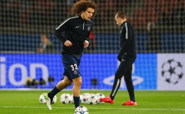 Saat PSG Kontra Madrid, Dipastikan Jika David Luiz Bakal Absen