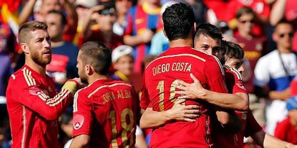 Timnas Spanyol Sedang Berada Diatas Angin