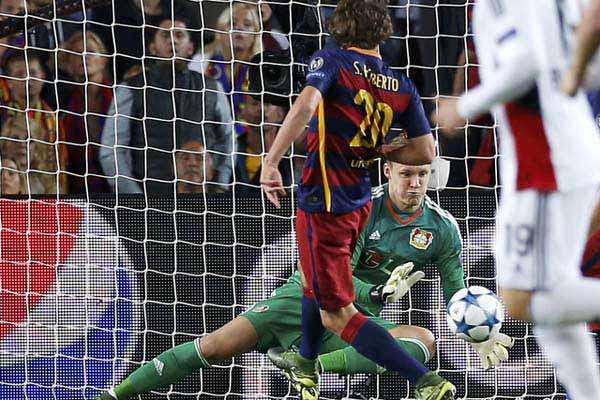 Eusebio sacritan puji semangat bermain Sergi Roberto