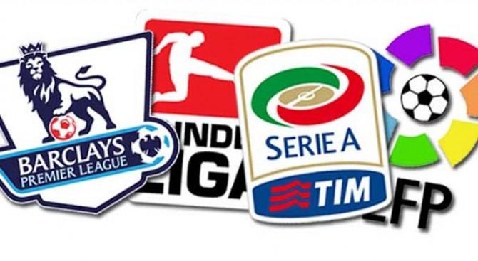 Hasil Pertandingan Sepakbola Liga - Liga Di Eropa