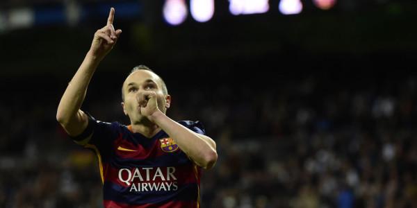 Iniesta Terima Kasih pada Madridista Usai Dapat Standing Ovation