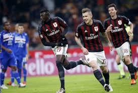 Milan Hajar Sampdoria 4-1