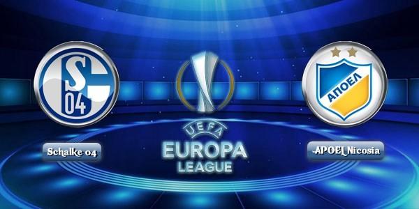 Prediksi Schalke 04 Vs Apoel Nicosia