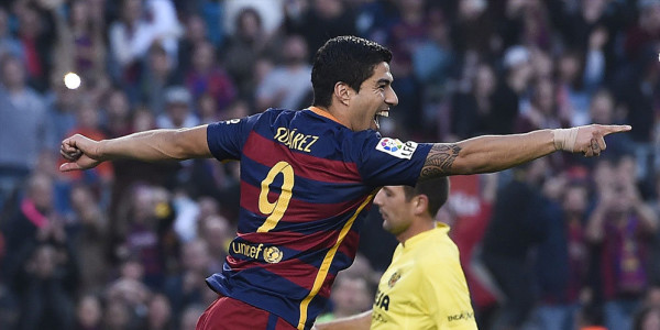 Suarez Cetak 38 Gol di Barca, Hanya Satu Penalti Saja