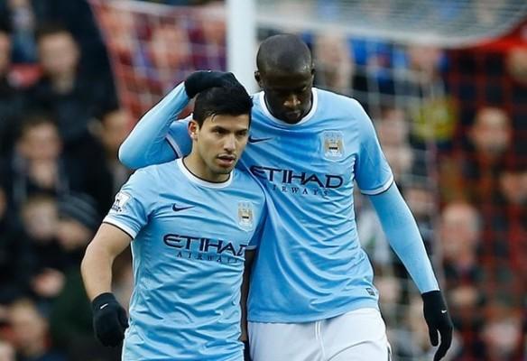 Saat Melawan Stoke, City Tak Akan Diperkuat Sergio Aguero dan Yaya Toure