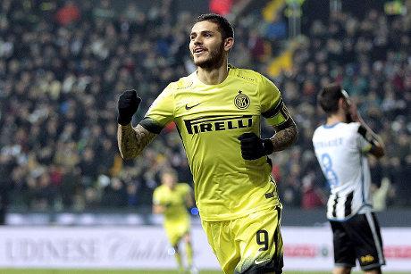 Inter Bantai Udinese 4-0