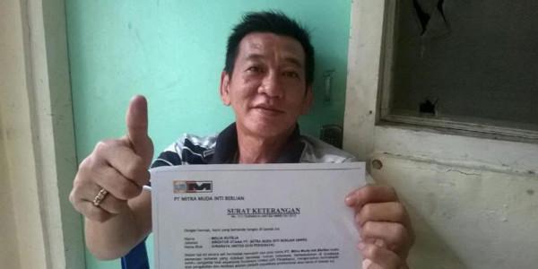 Kasus Tony Ho, Ini Penjelasan dari Surabaya United
