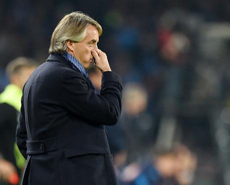 Mancini : Kami Tak Layak Kalah
