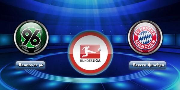 Prediksi Hannover 96 vs Bayern Munchen