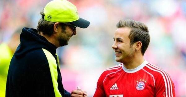 Mario Gotze Memuji Pelatih Lamanya