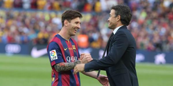Messi Sempat Kesulitan Dilatih Enrique