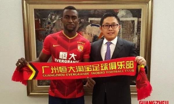 Jackson Martinez Resmi Bergabung Dengan Guangzhou Evergrande