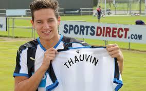 Newcastle United resmi gaet Florian Thauvin dari Marseille.