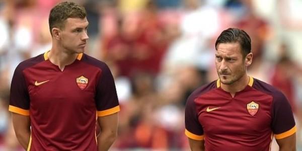 Dzeko ingin duet dengan Totti di AS Roma