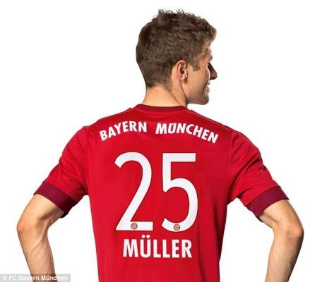 """""""Muller"""" Bayern Munich Tim yang sangat Kuat"""