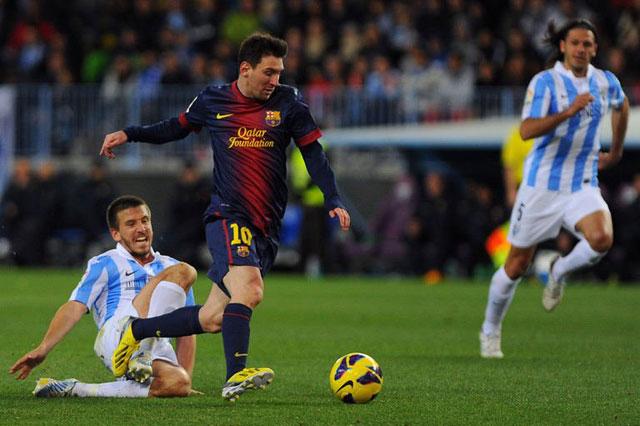 Hasil Barcelona vs Malaga
