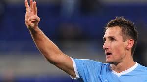 Klose khawatir tidak bisa main di Leg kedua Babak Play-off Liga Champions