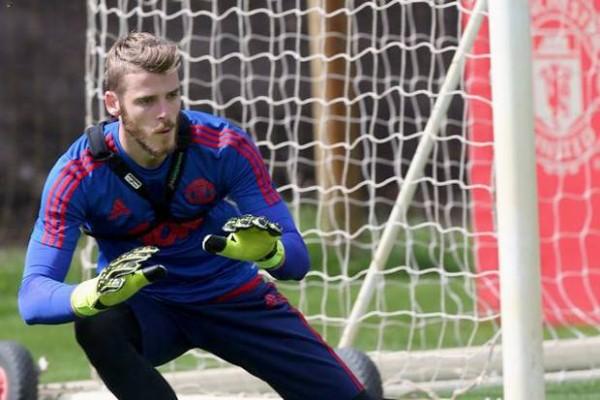 De Gea kembali berlatih dengan Skuat utama Manchester United.