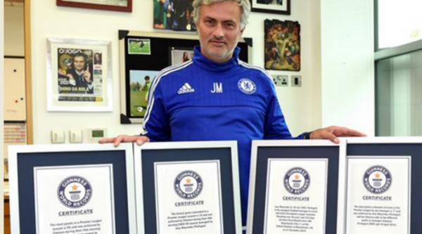 Jose Mourinho Masuk buku rekor Dunia