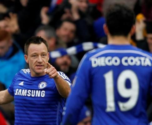 Diego Costa dengan John Terry Berseteru Usai The Blues Kalah Dari Everton