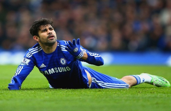 Kurt Zouma beri semangat untuk Diego Costa