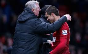 Chicharito mengucapkan terimakasih untuk Alex Ferguson