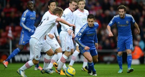 Di Stamford Bridge, Chelsea Dibantai Southampton